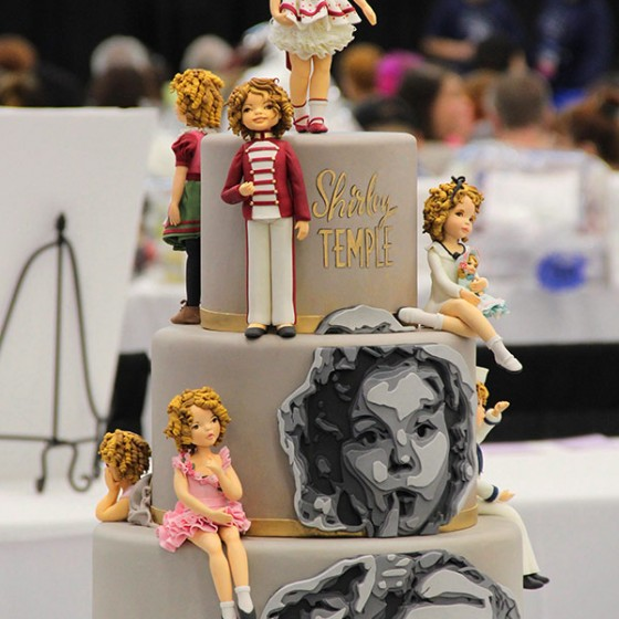La Belle Aurore | Cake Art Design | Shirley Temple