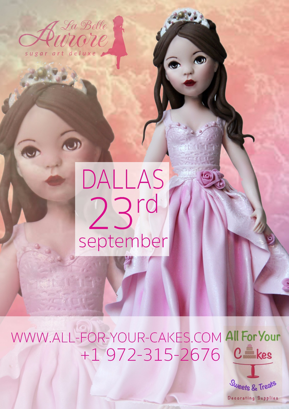 master class sugar doll Dallas