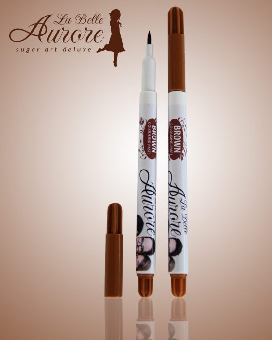 Brown edible marker - Extra fine tip