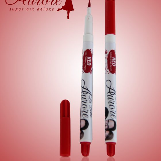 Red edible marker - Extra fine tip