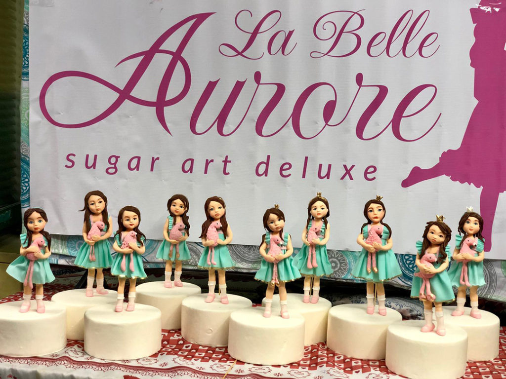 Sugarpastedoll Amy Milano Globe Trotter Master Class by Labelleaurore Sponsored by Saracinodolci