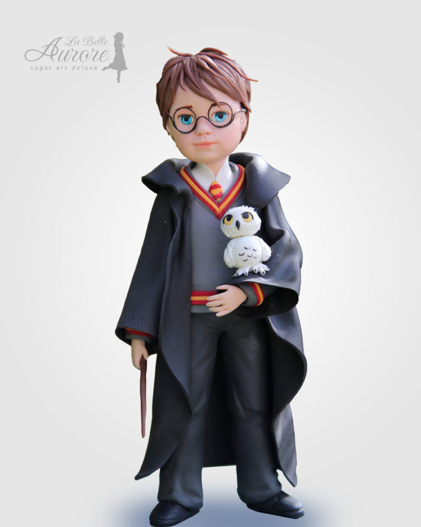 harry potter modellig techniques - cake design roma La Belle Aurore