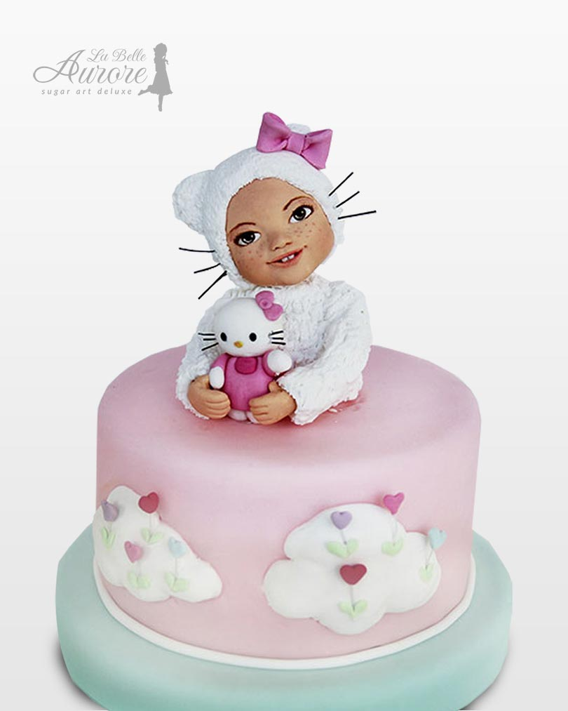 Hello Kitty topper cake cake design La Belle Aurore