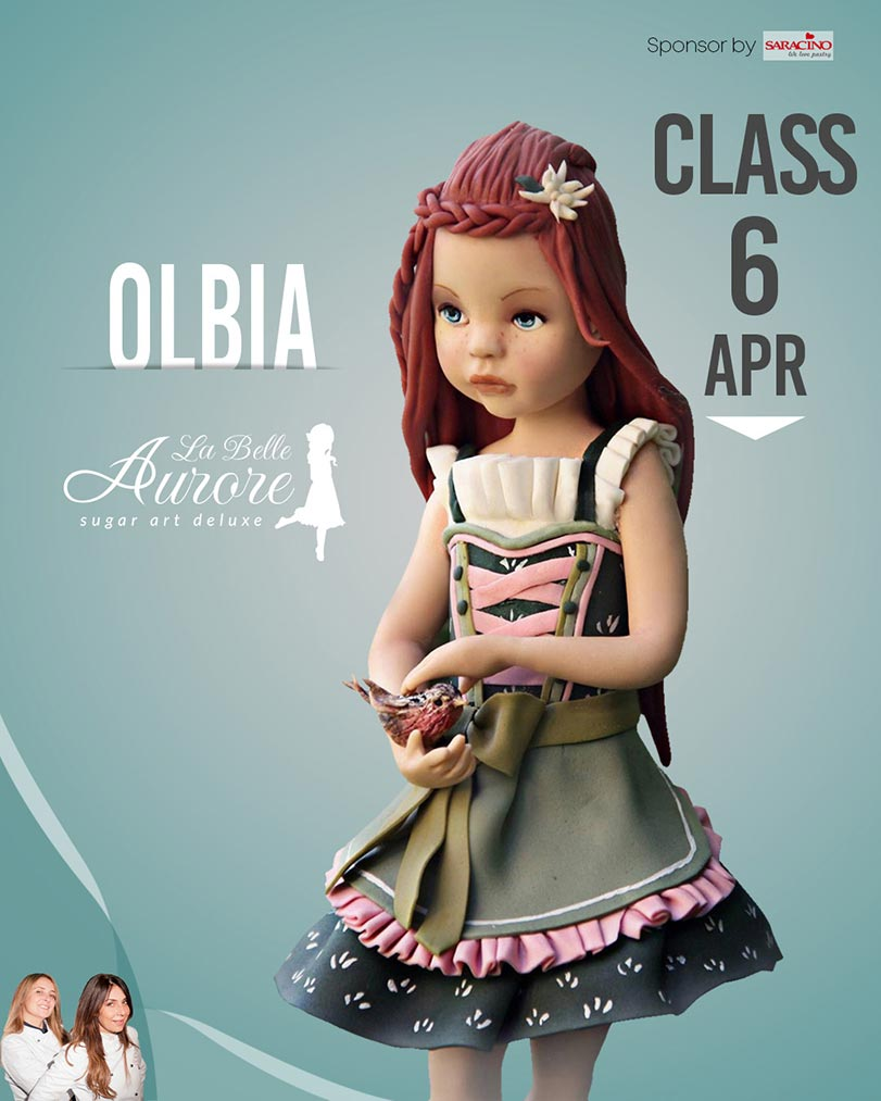 Olbia 6 April -hosted by vanilla cake - master class la belle aurore cakedesigner roma
