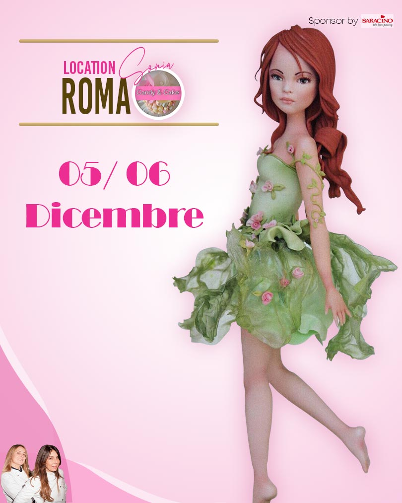 Lelè master class Roma - Event Hosted by Candy e Cake - Standing Figure Modeling by La Belle Aurore