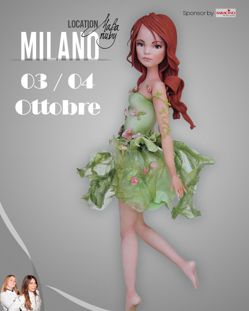 milano 3 4 ottobre - Event Hosted by Maba Nuby - Standing Figure Modeling by La Belle Aurore