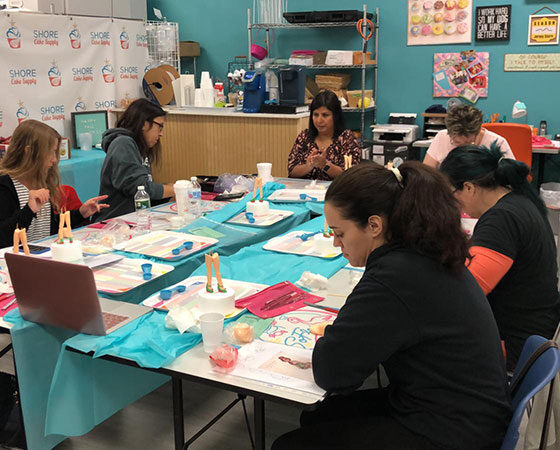 New Jersey Globe Trotter master class HOSTED BY SHORE CAKE SUPPLY Sponsored Saracinodolci